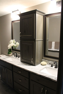 Dual Sink with Granite Counter