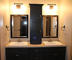 Dual Sink with Tower