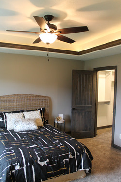 Bedroom with Trayed Ceiling