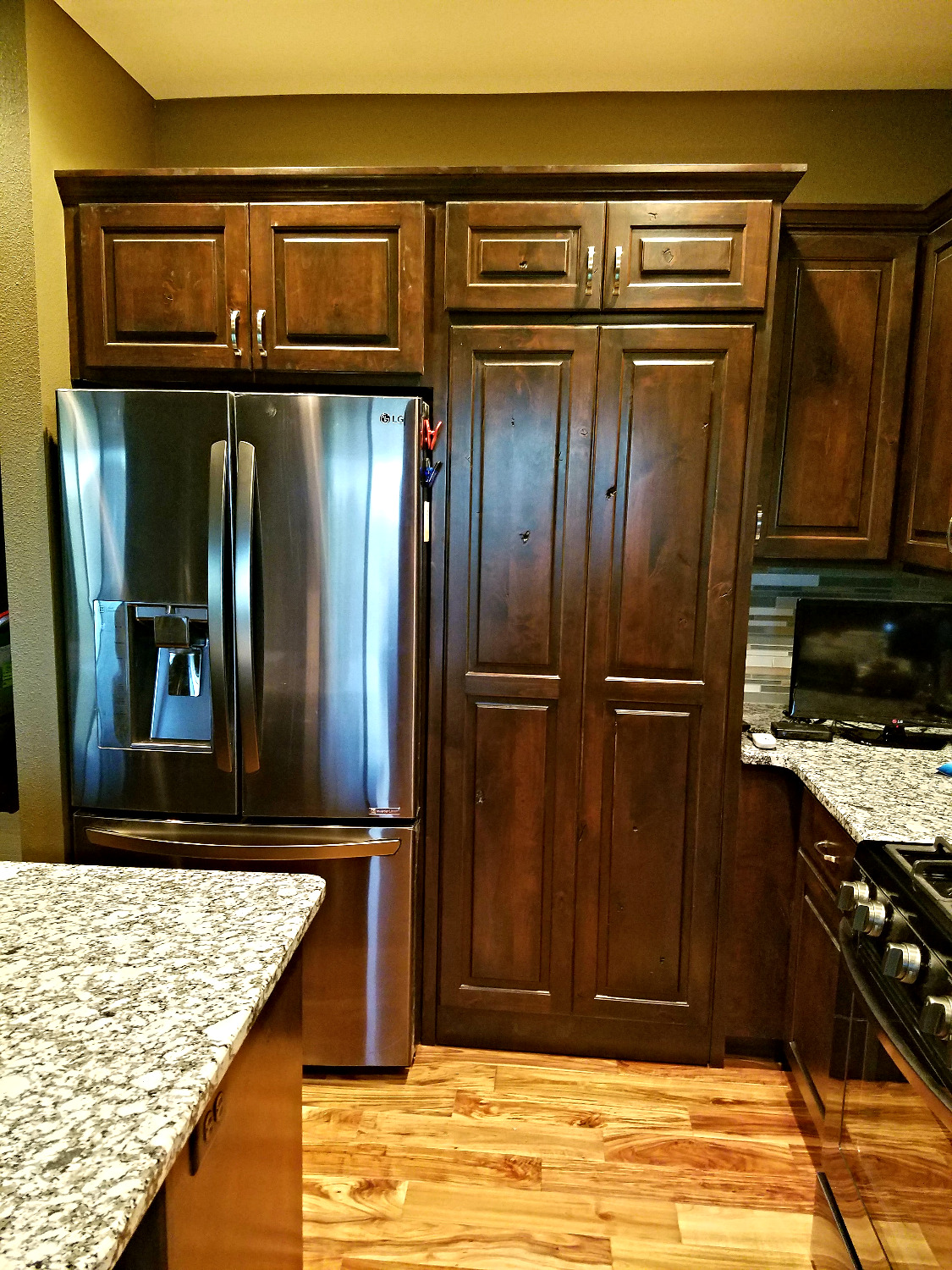 Knotty Alder Custom Cabinetry