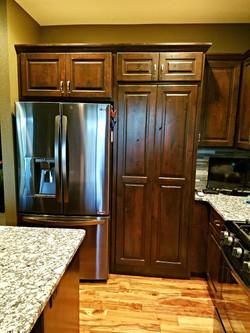 Knotty Alder Custom Cabinetry