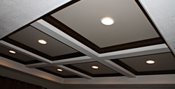 Contemporary Coffered Ceiling