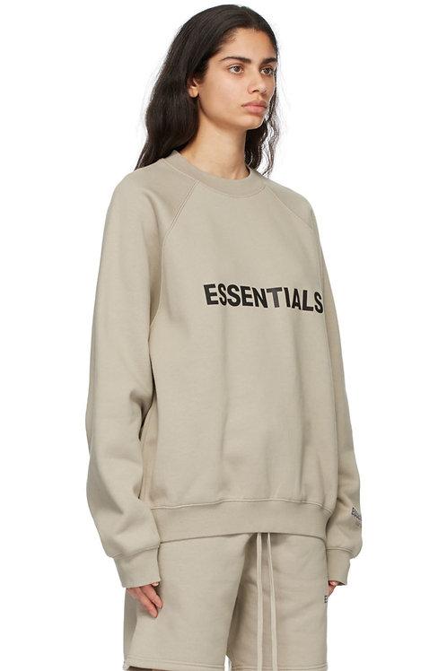 Fear Of God Essentials Khaki Sweater
