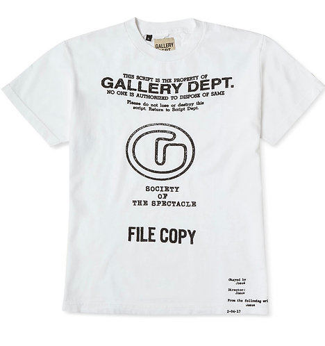 Gallery Dept Society Of The Spectacle Tee