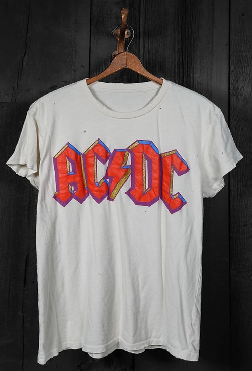 """Made Worn AC/DC """"Highway To Hell"""" Tee"""