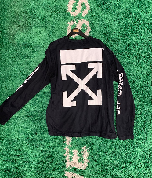 OFF WHITE L/S TEE