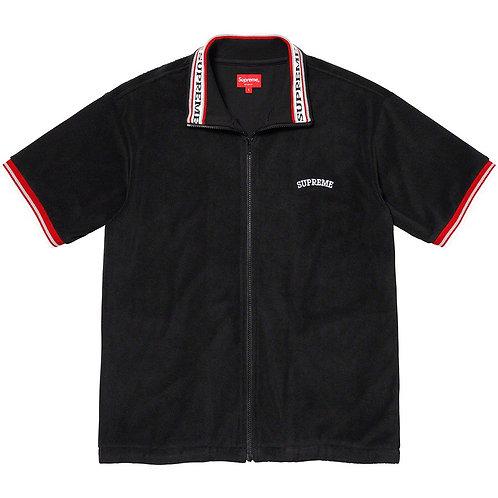Terry S/S Zip Up  Cotton