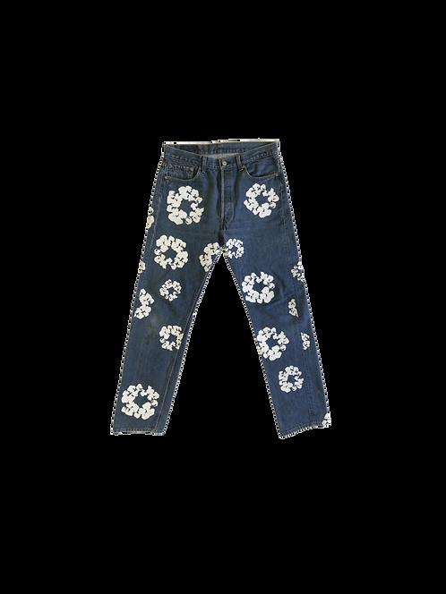 Denim tears x Levi Cotton Wreath Jeans