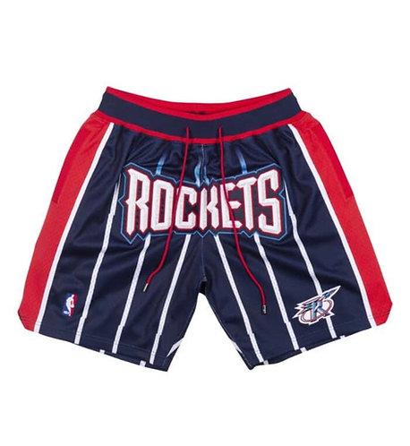 Mitchell & Ness X Houston Rockets x Just Don Shorts