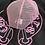 Thumbnail: Chrome Hearts RARE Black + Pink CH Trucker