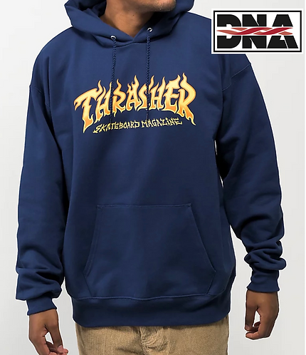 Thrasher Fire Logo Hoodie