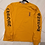 Thumbnail: CHROME HEARTS Authentic Mustard Long Sleeve Tee