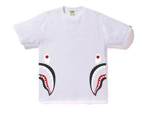 RANDOM BAPE STA SIDE SHARK TEE