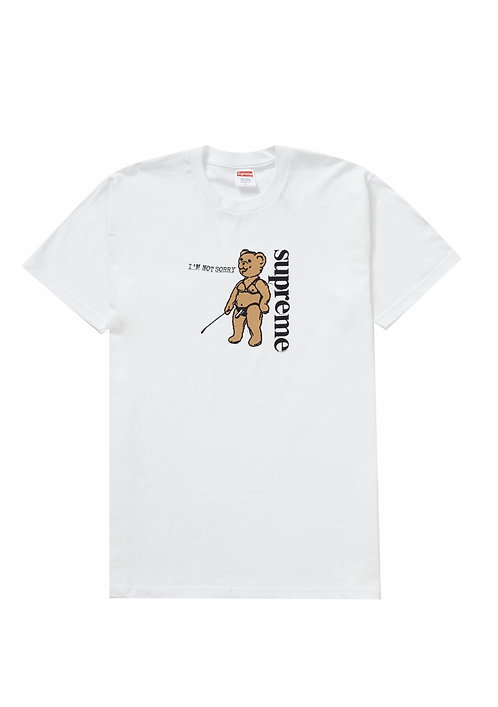 Supreme Not Sorry Tee