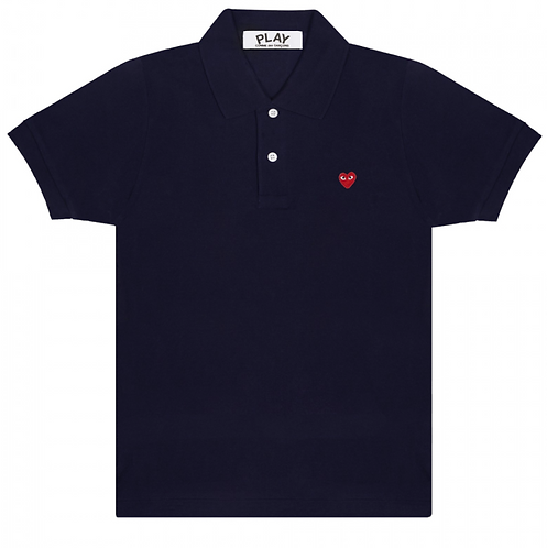 CDG PLAY SMALL HEARTPOLO T-SHIRT