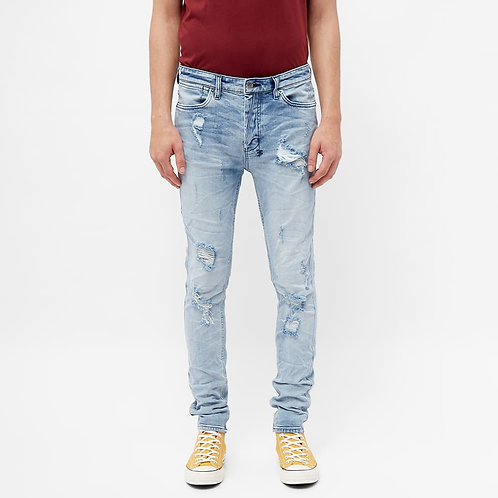 KSUBI VAN WINKLE PUNK BLUE TRASHED Denim