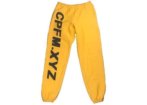 Cactus Plant Flea Market CPFM.XYZ Sweatpants Yellow