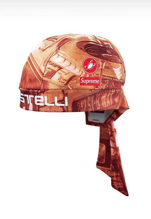 Supreme X Castilli Cycling Skull Cap