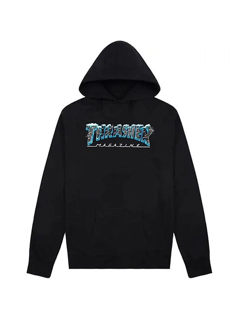 Thrasher Black Ice Hoodie