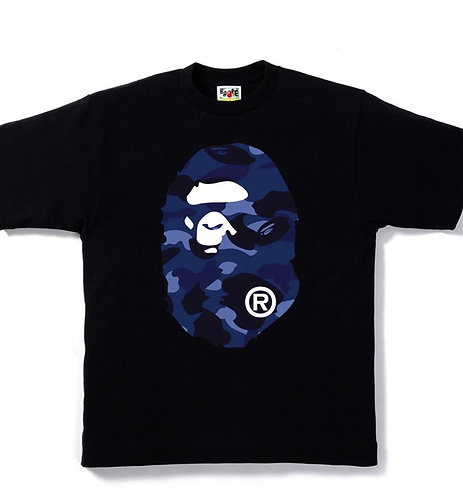 BAPE COLOR CAMO BIG APE HEAD TEE