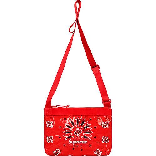 Supreme Bandana Tarp Side Bag