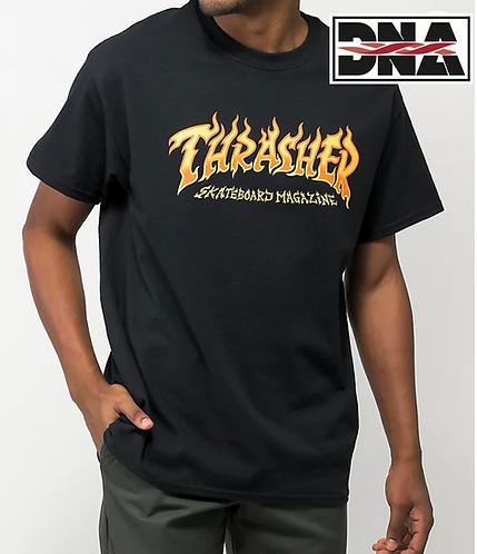 Thrasher Fire Logo Tee