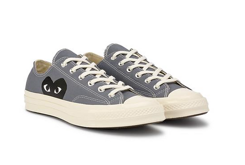 CDG PLAY CONVERSE BLACK HEART CHUCK TAYLOR ALL-STAR LOW