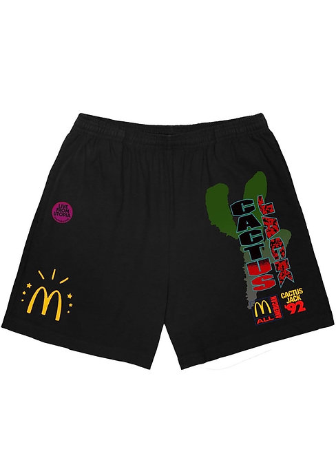 Cactus Jack x McDonald's All American shorts