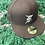 Thumbnail: FEAR OF GOD ESSENTIALS NEW ERA FITTED CAP (FW20) BROWN/WHITE