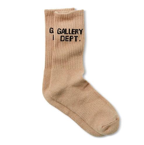 Gallery Dept Clean Tan Socks