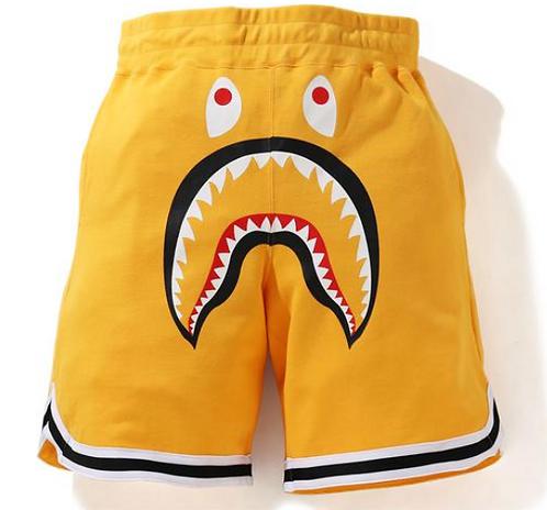 Bape shark basketball sweat short
