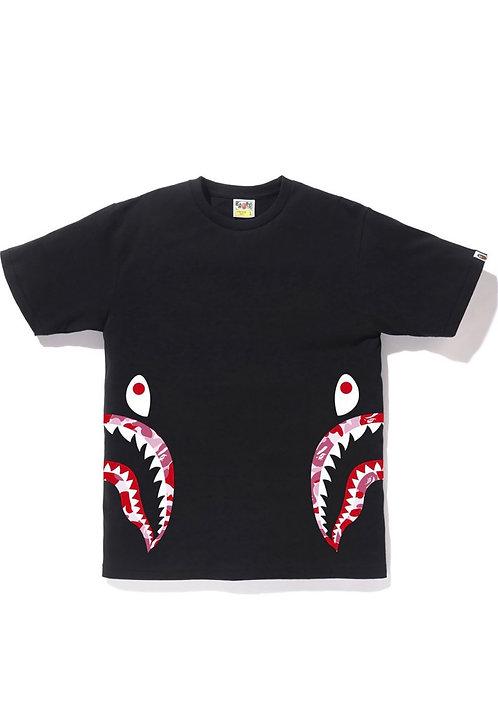 BAPE ABC CAMO SIDE SHARK TEE