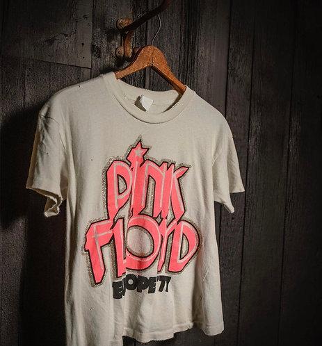"Made Worn Pink Floyd ""Europe 77"" Tee"