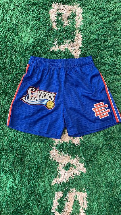 Eric Emmanuel Sixers basketball shorts