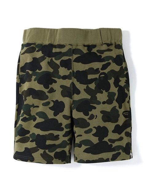 Bape 1st Camo Sweat Shorts