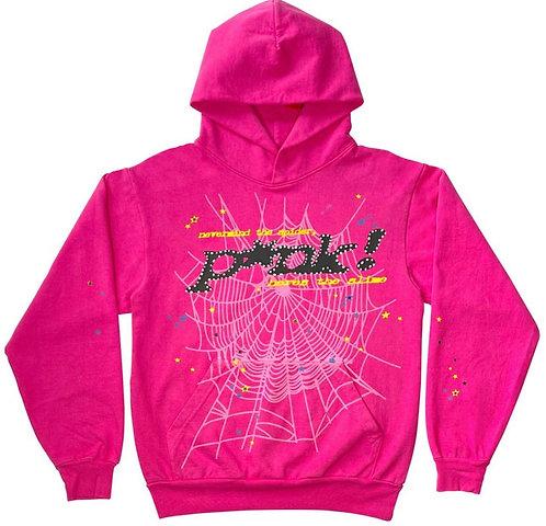Young Thug Sp5Der Pink Hoodie