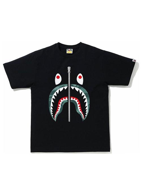 Bape Color Camo Shark Tee