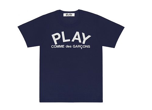 CDG Play Navy T-Shirt
