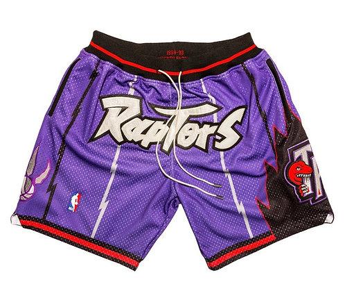 Mitchell & Ness x Toronto Raptors x Just Don Shorts