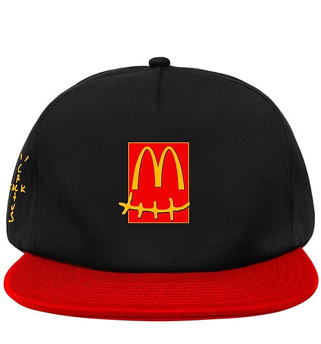 Travis Scott x McDonald's Smile Cap