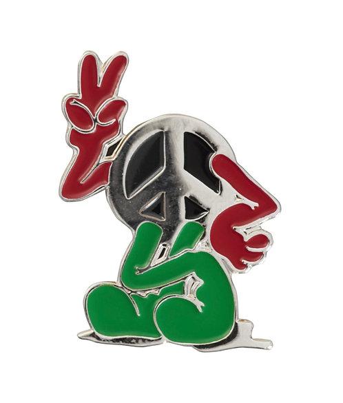 Supreme Peace Pin