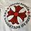 Thumbnail: Chrome Hearts Red Plus Logo Tee