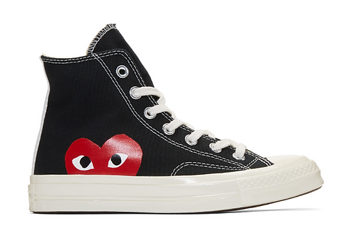 CDG Converse Edition Chuck Taylor All-Star '70 High-Top Sneakers (high top)