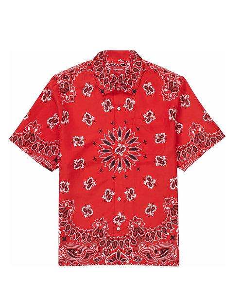 Supreme Bandana Silk S/S Shirt