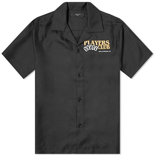 Amiri Players Club Bowling Shirt