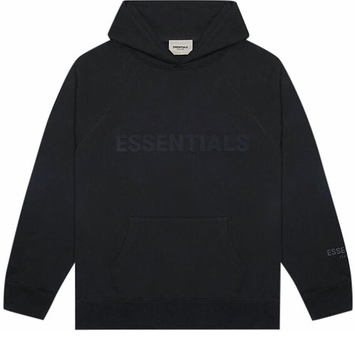 Fear of God Essential 3D Silicone appliqué pullover hoodie