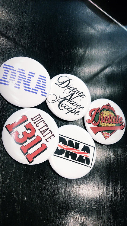 DNA BUTTONS