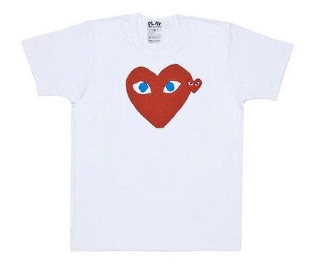 CDG PLAY BIG HEART TEE