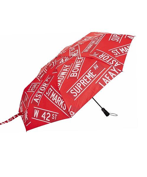 Supreme Shedrain Street Signs umbrella