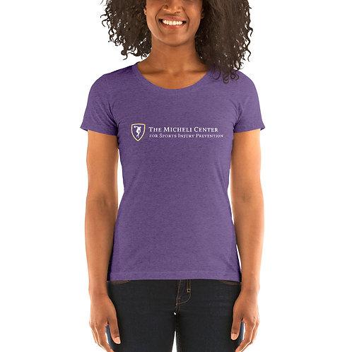 Ladies' short sleeve t-shirt (white logo)